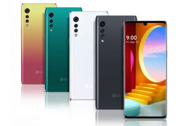 Los colores del LG Velvet, que tiene una pantalla de 6,8 pulgadas
