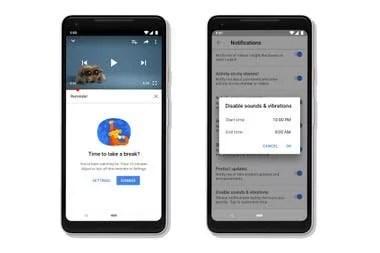 Las notificaciones para dejar YouTube y dormir se suman a varios de los cambios que introdujo la compañía en 2018 para mejorar el bienestar digital de los usuarios