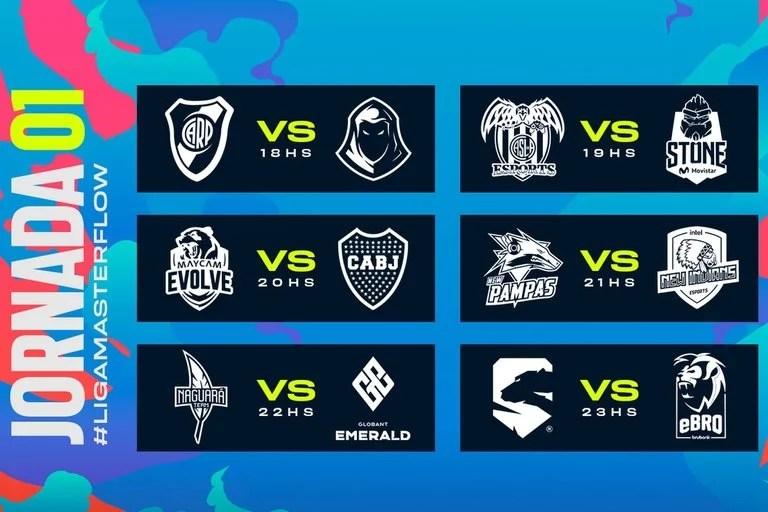 Estos son los cruces de la primera jornada del torneo local de League of Legends