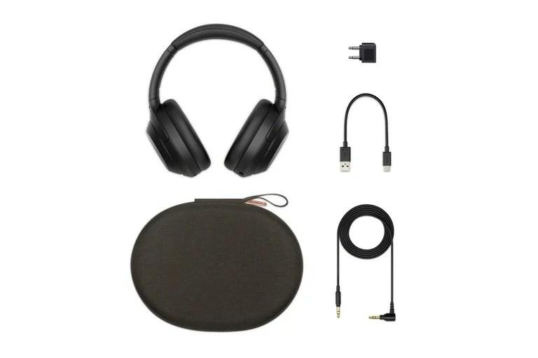 Los accesorios del auricular Sony WH-1000XM4