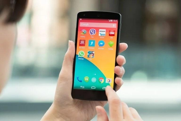 Un Nexus 5, fabricado por LG para Google