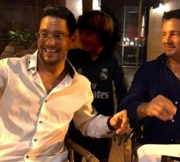 Una fotografía actual de Sergio Basteri junto a su hermano Alejandro