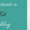 Create a media kit for your blog