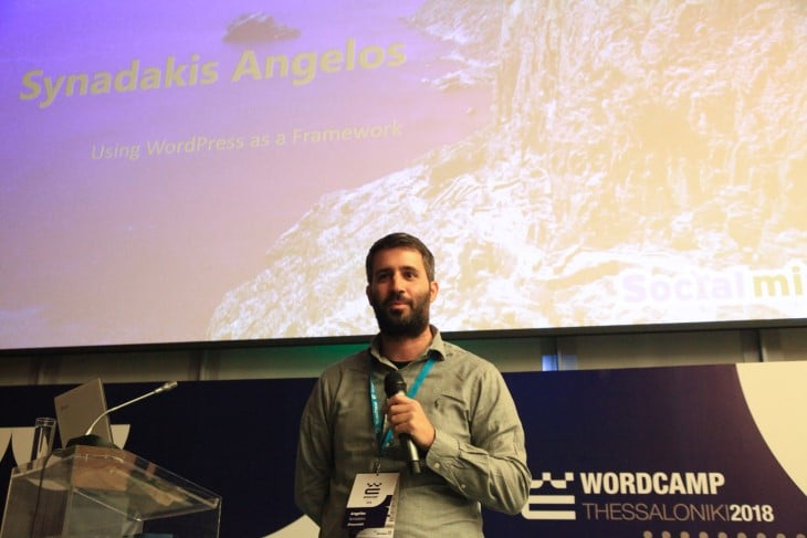 WordCamp Thessaloniki – Using WordPress as a Framework