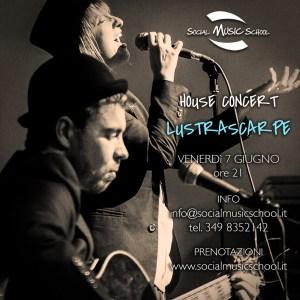 Lustrascarpe House Concert @ Social Music School @ Social Music School