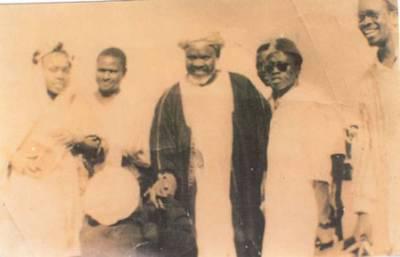 Seyda Mariama et son père à la Mecque