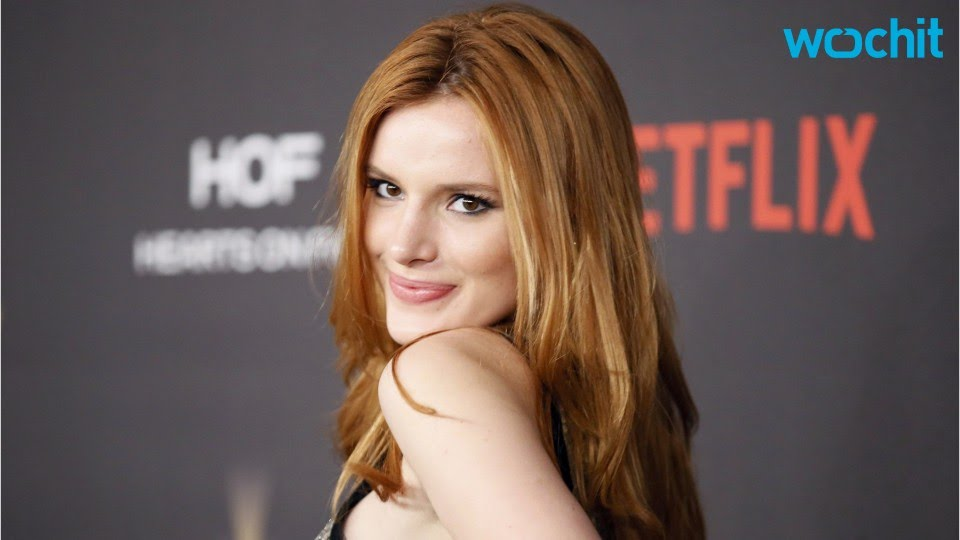 Bella Thorne Almost Licks Hairy Armpit In Photo Shoot