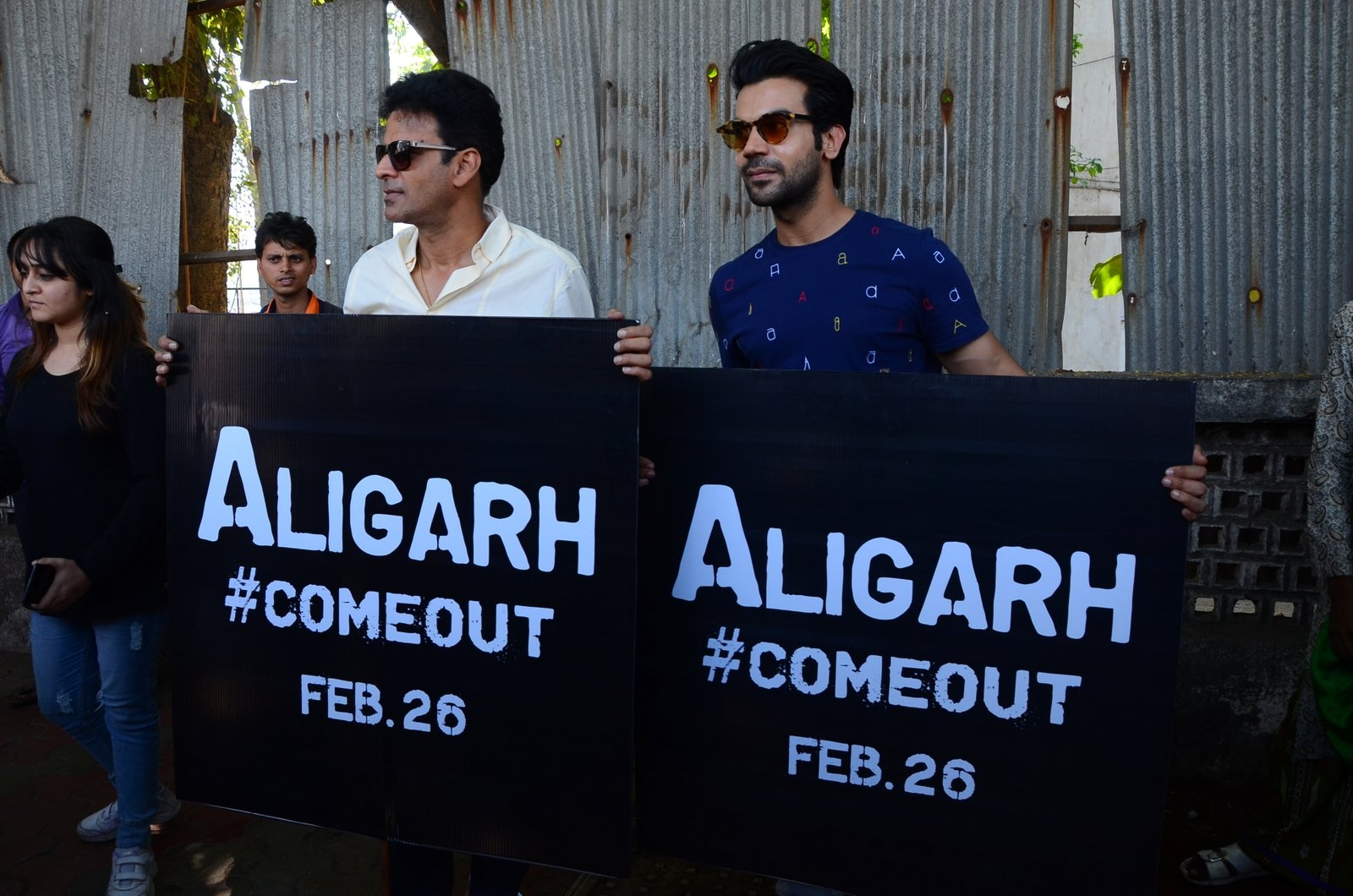Don't litter Mumbai with film posters, say 'Aligarh' actors, director