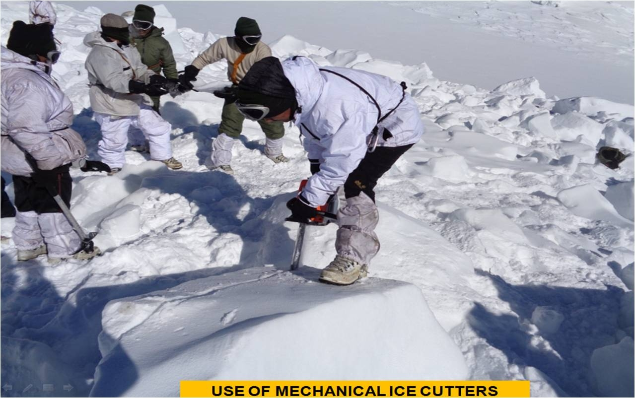 Bodies Of Nine Soldiers Killed in Avalanche Flown out Of Siachen