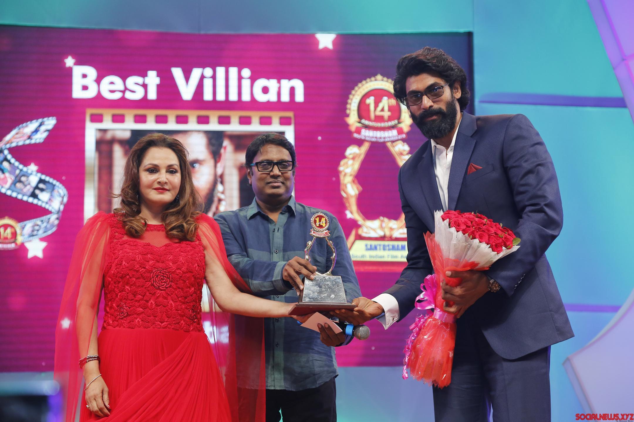 Santosham South India Film awards 2016 announced
