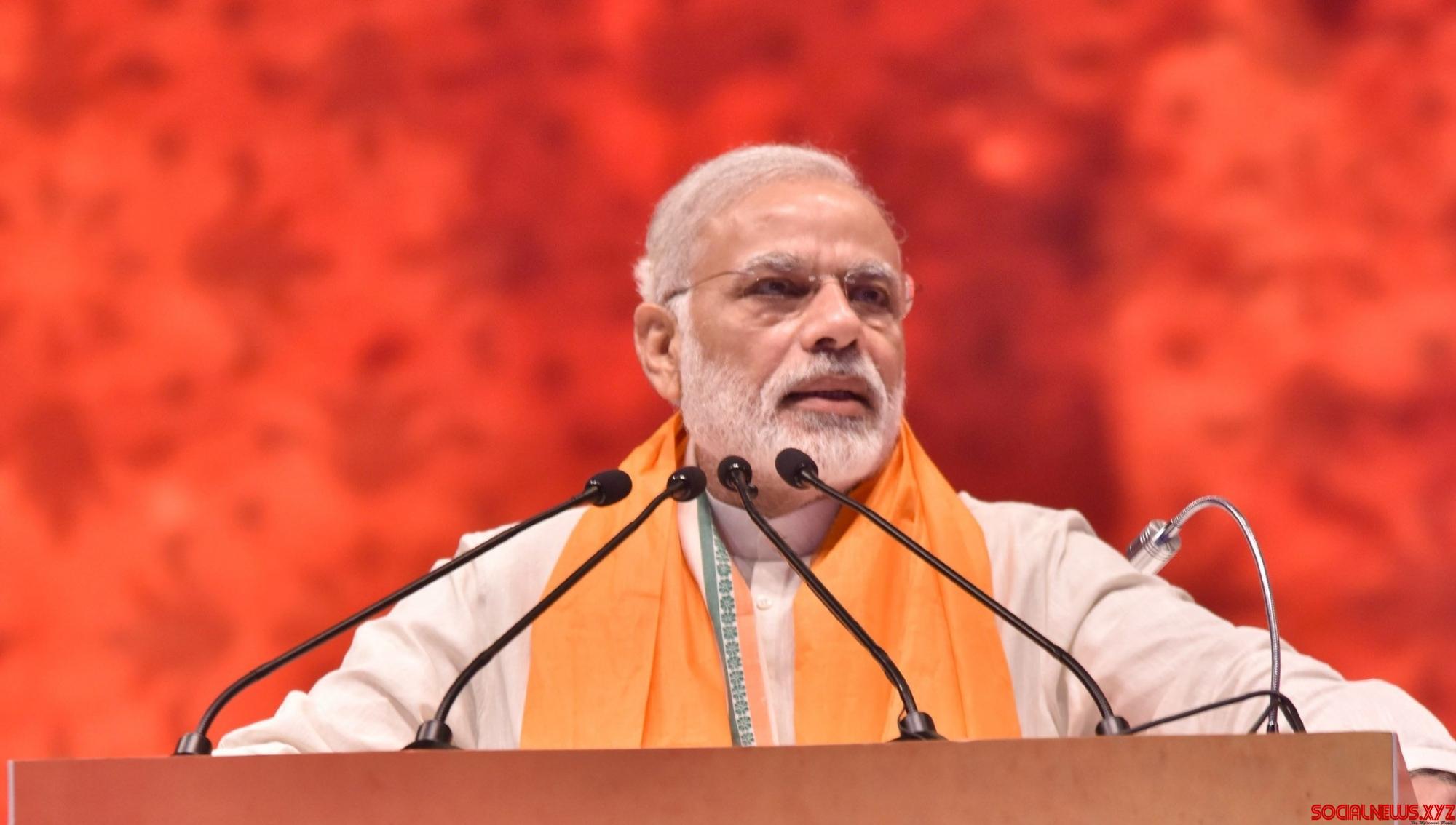 Modi continues to rule popularity charts despite a slight dip: IANS-CVOTER tracker poll