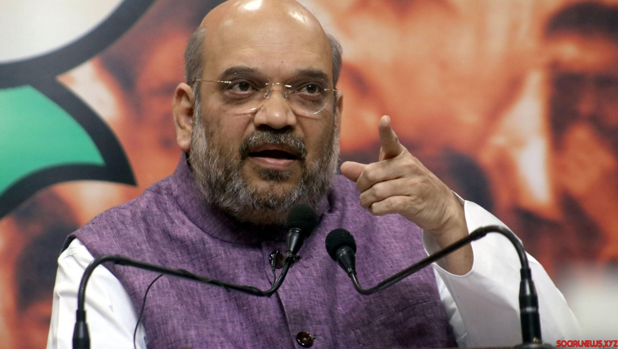 Amit Shah to launch Telangana poll campaign on Saturday