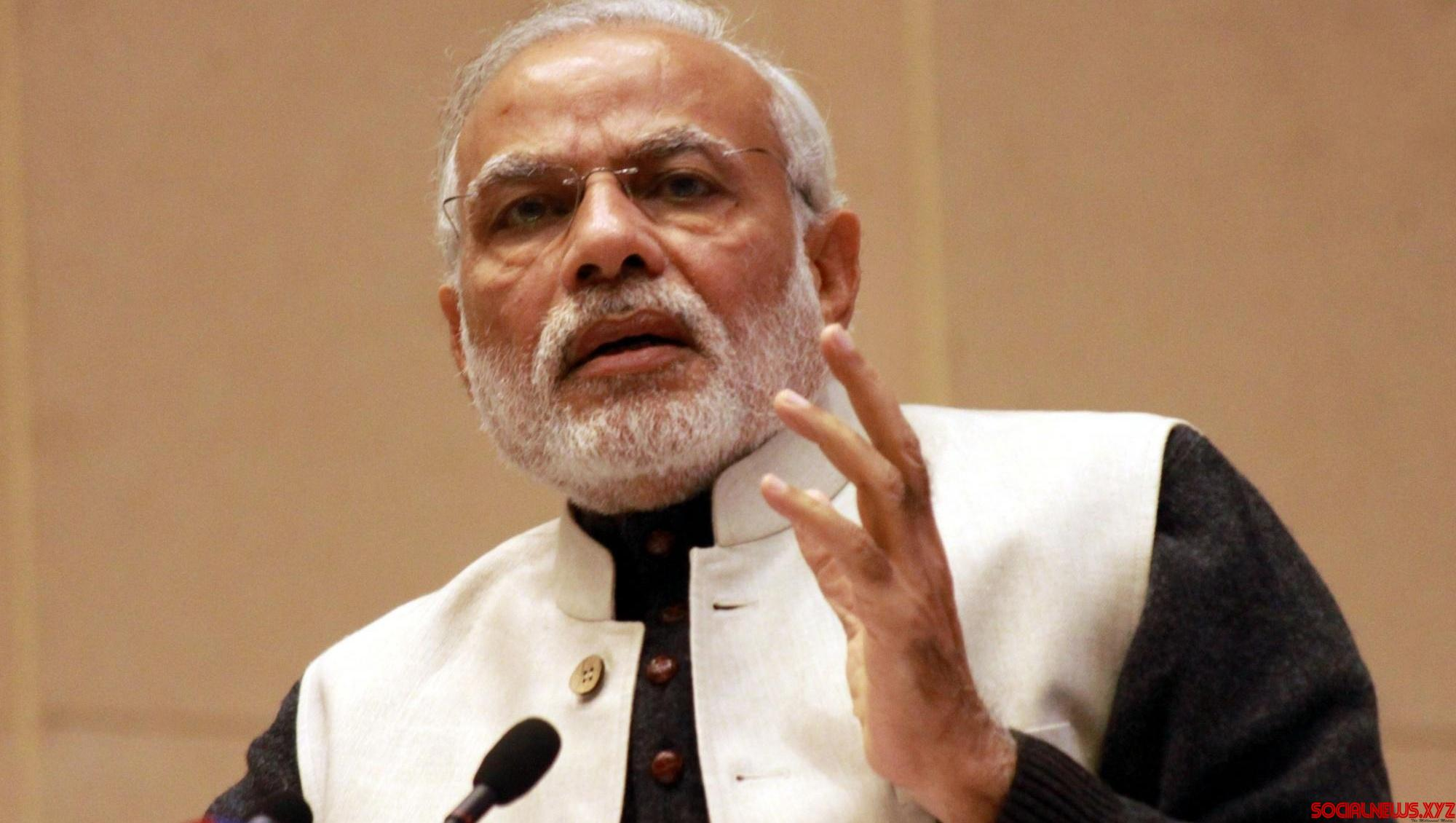 Congress pays lip service to farmers, national security punching bag: Modi