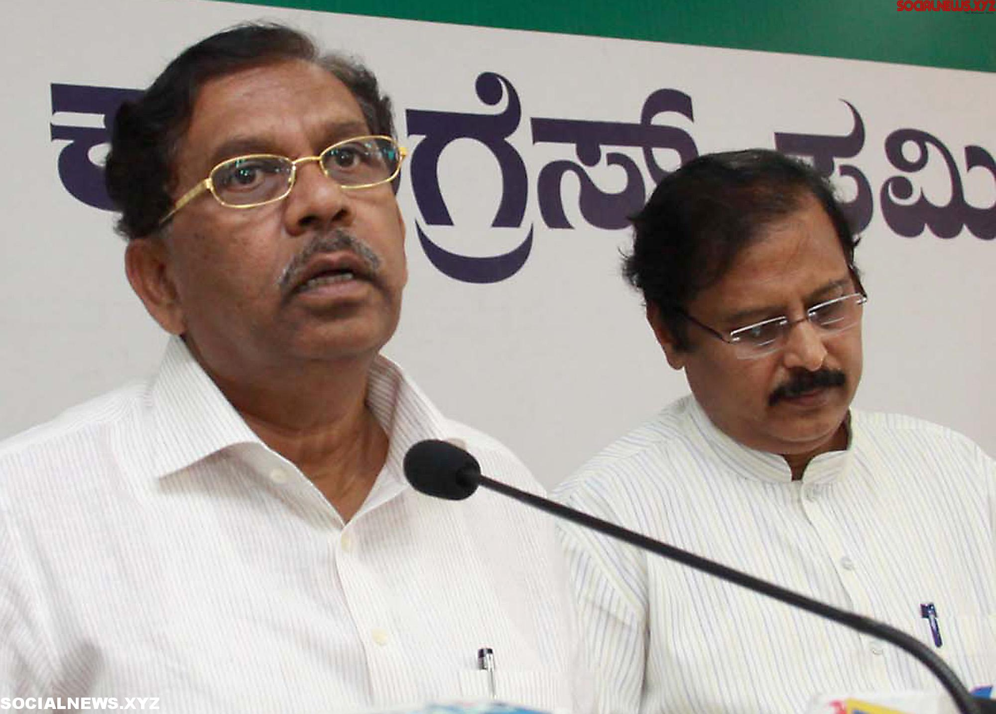 Congress President Okayed Parameshwara as Deputy CM of Karnataka