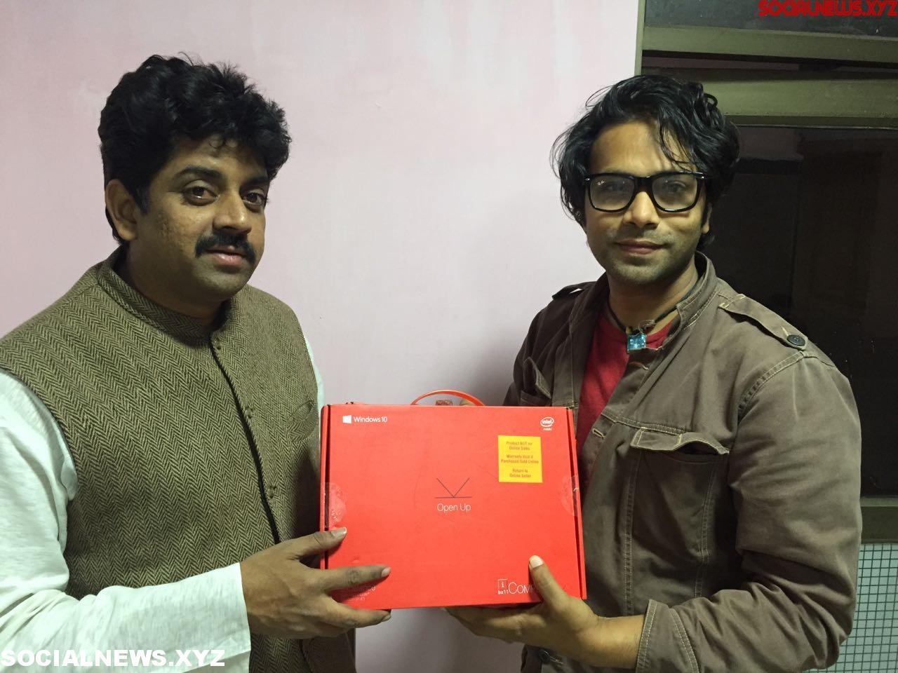 Hero Aditya Om digitilized Cherupally village