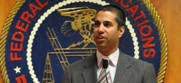 New York: Ajit Pai, a commissioner of the Federal Communications Commission which regulates cellphone spectrum and broadcast, met President-elect Donald Trump on Jan. 16, 2017. (Photo: IANS/FCC)