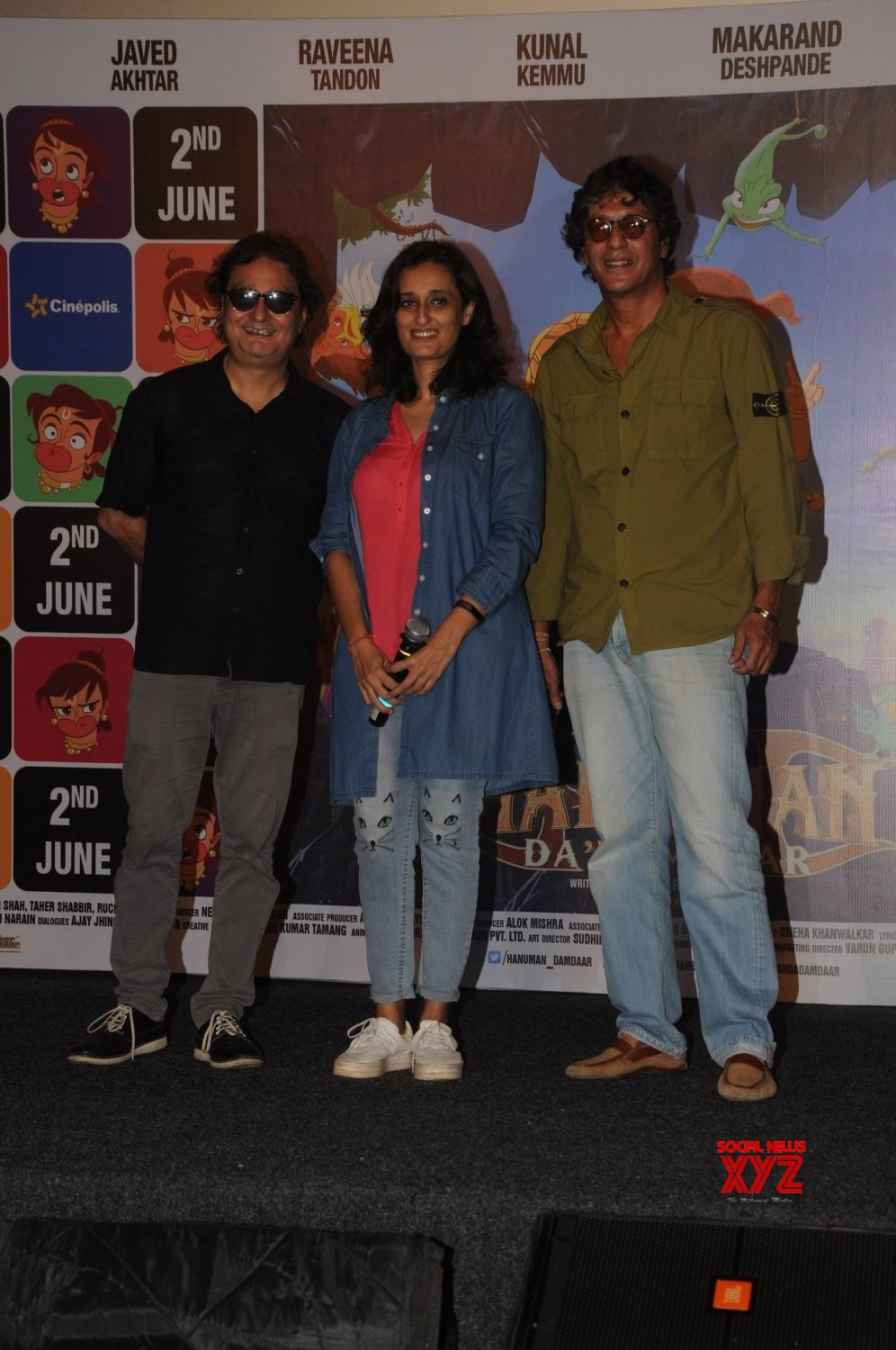 Mumbai: Launch of song Lakdi Ki Kathi from the film Hanuman Da' Damdaar