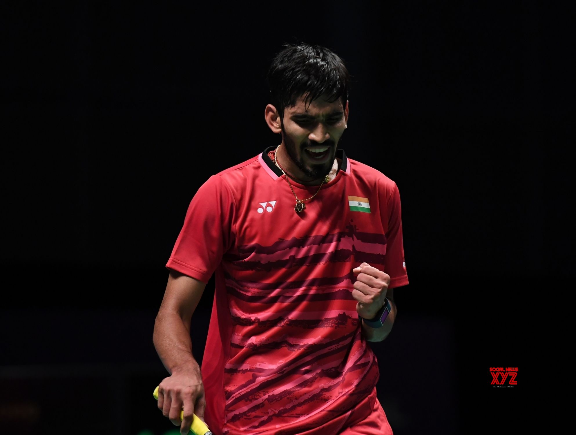 Srikanth in quarters Pranaav Sikki lose in Badminton Worlds