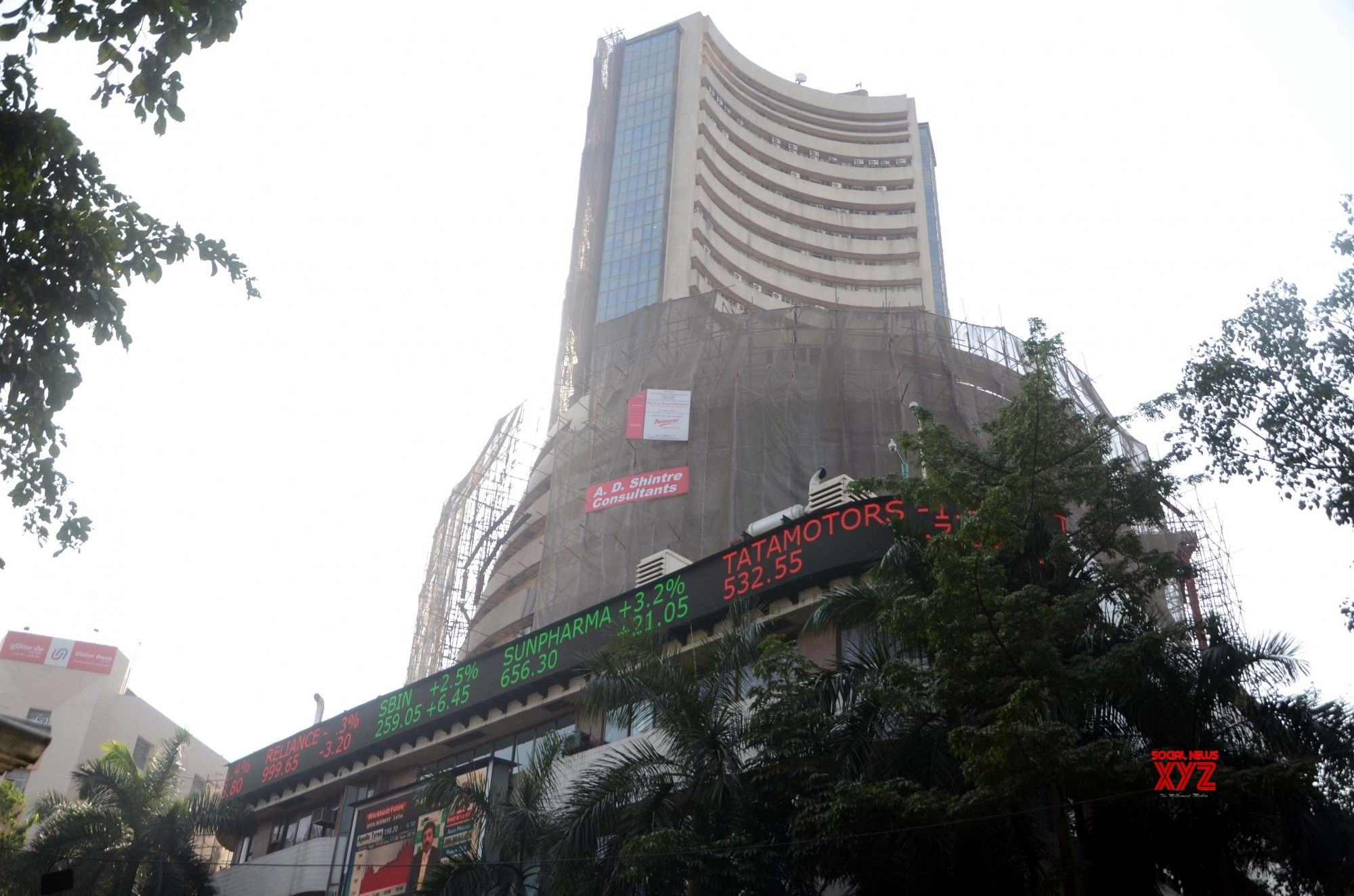 Markets open in red: Sensex down 160 points