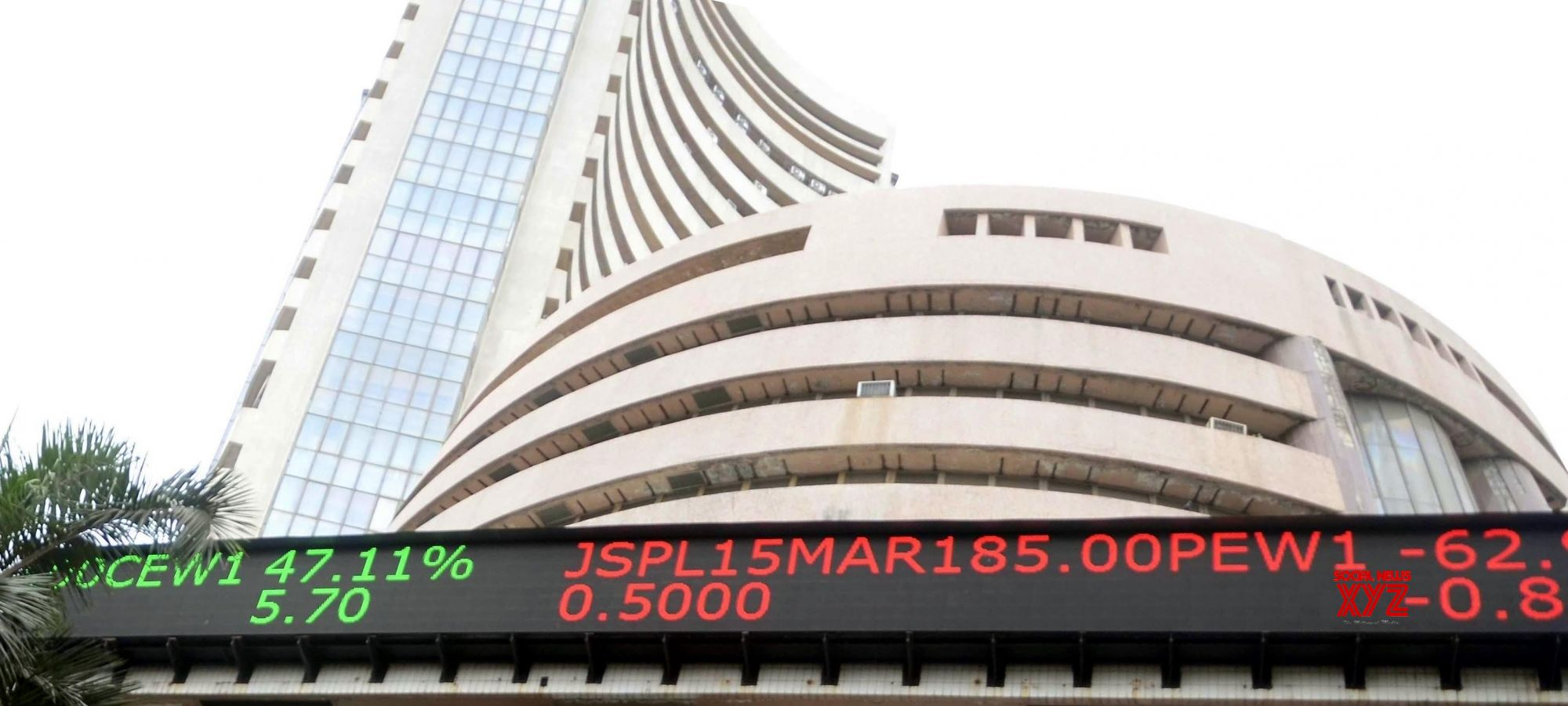 Sensex tanks over 570 points fearing oil output cut, trade war