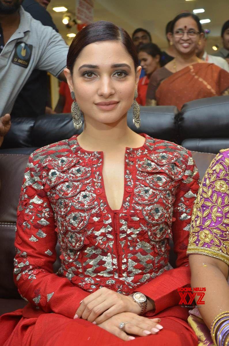 Actress Tamannaah Stills From Tirumala Furnitures Store Launch