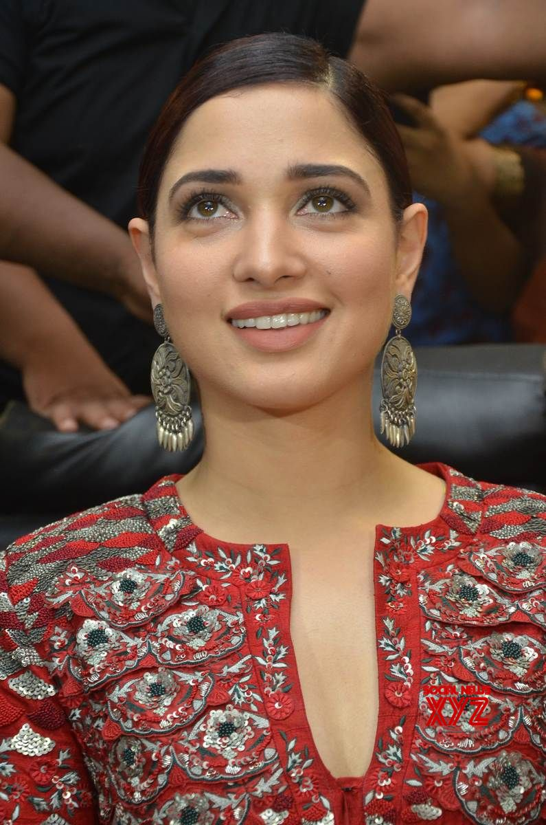 Actress Tamannaah Stills From Tirumala Furnitures Store Launch