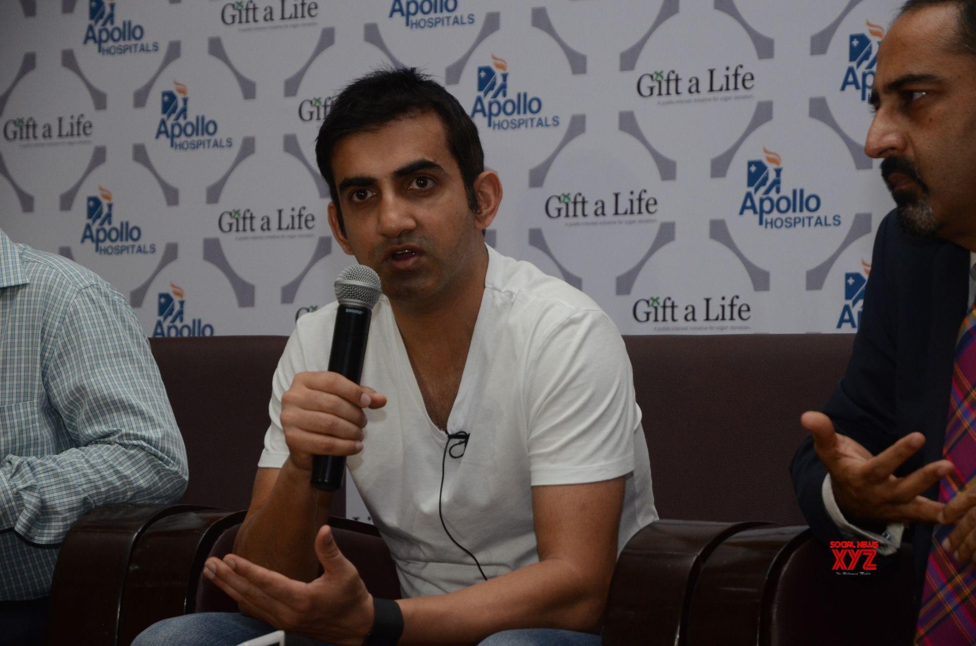 Gautam Gambhir joins organ donation awareness drive