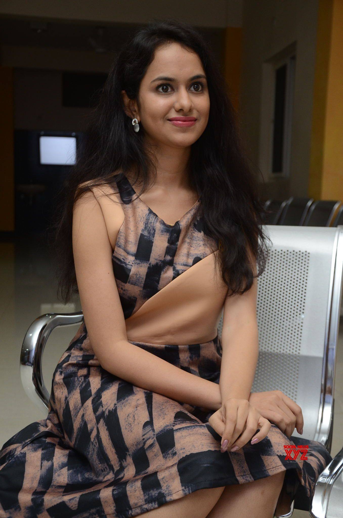 Actress Pallavi Dora Stills From Prema Entha Madhuram Priyuralu Antha Katinam Movie Promotions