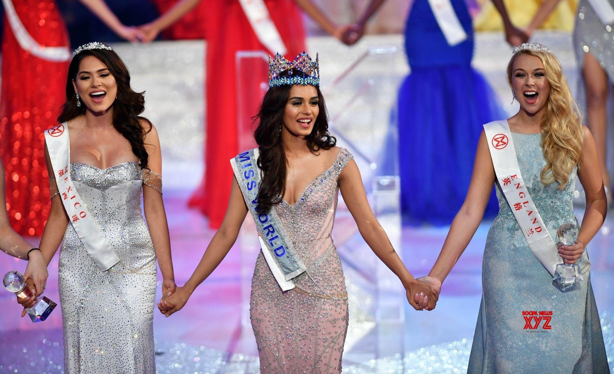 Date Of Miss Universe 2017 >> Sanya (China): India's Manushi Chillar wins Miss World crown - Social News XYZ