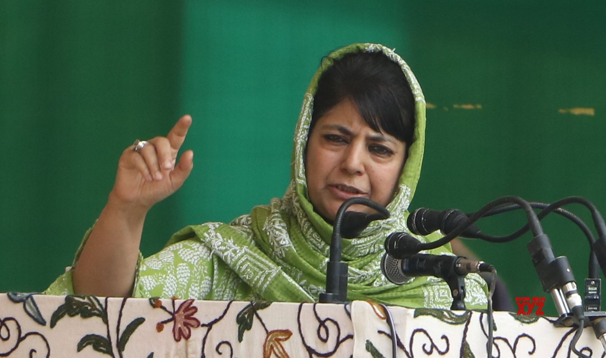 PDP not to participate in J&K delimitation process