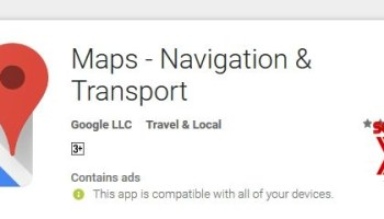 Accident, speed trap reporting feature on Google Maps