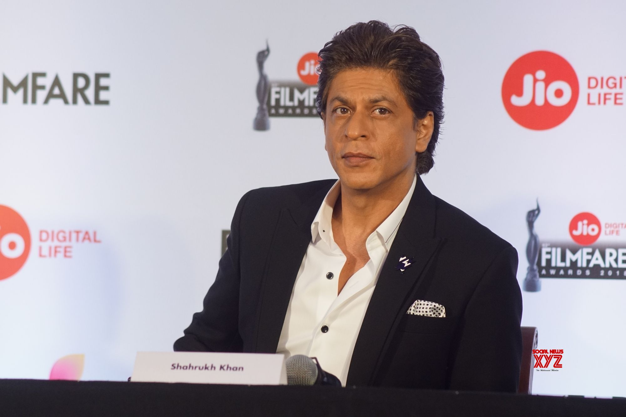 Mumbai: Press conference of Jio Filmfare Awards 2018 Shah