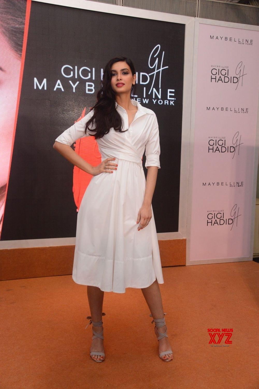 Mumbai: Diana Penty during a launch of makeup range