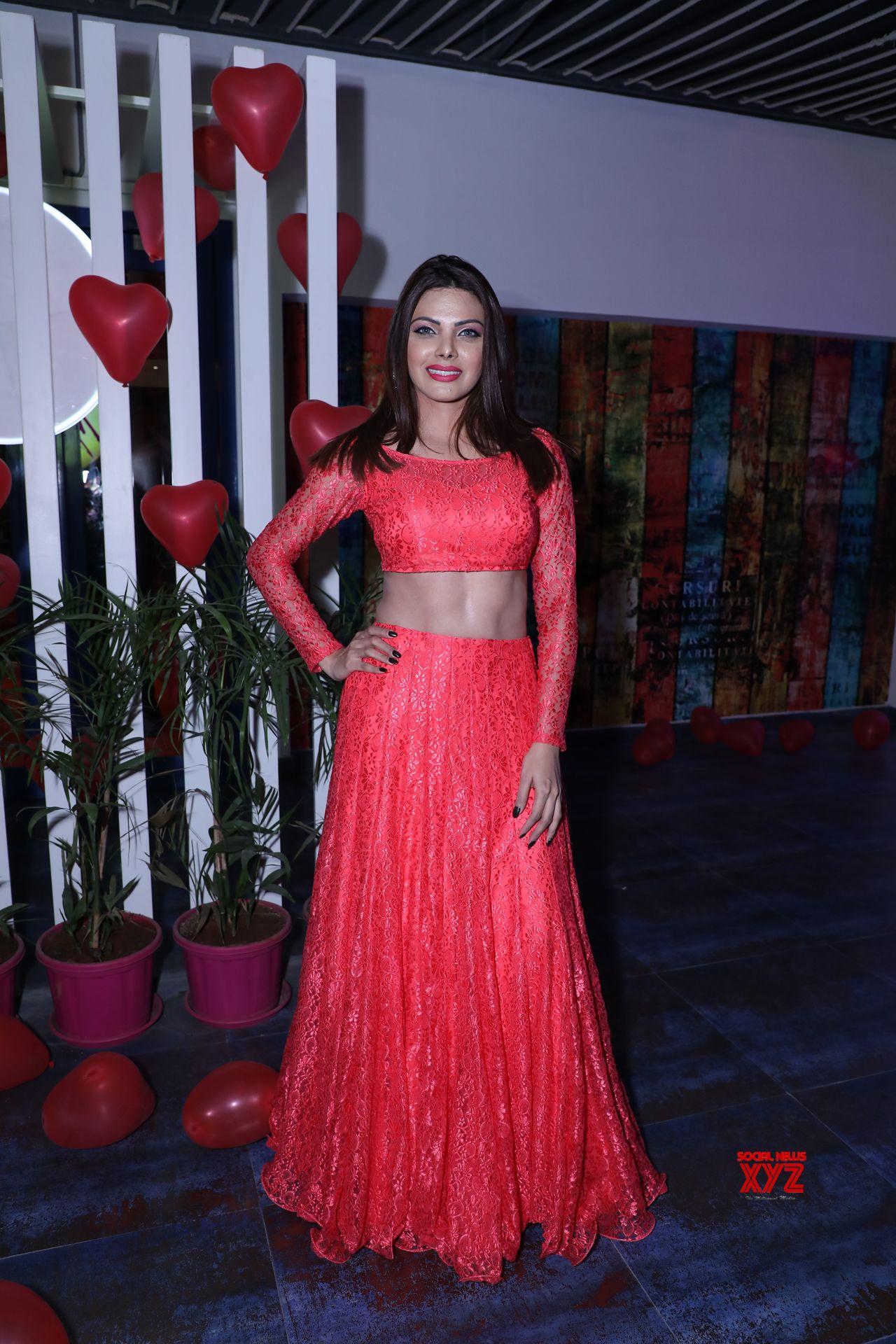 Actress Sherlyn Chopra Valentine S Day Hot Photo Shoot Gallery