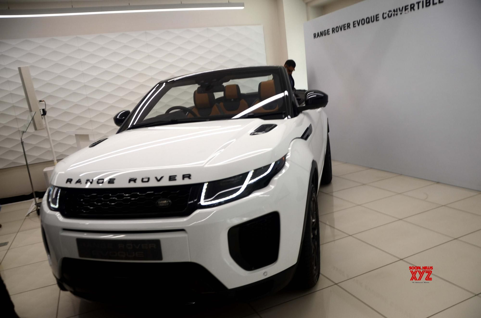 Jlr India Launches Range Rover Evoque Convertible Social News Xyz