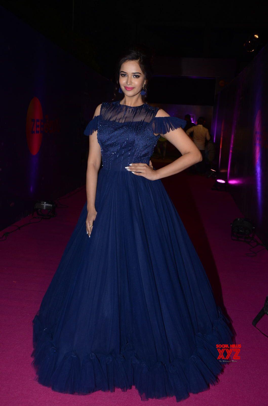 Actress Poojitha Ponnada Stills From Zee Telugu Apsara