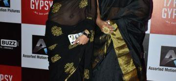 Mumbai: Actresses Tina Dutta and Ishita Ganguly during Nababarsha celebration in Mumbai on April 11, 2018. (Photo: IANS)