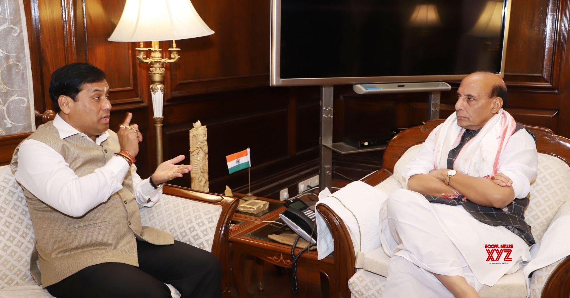 Rajnath discusses Guwahati blast with Assam CM