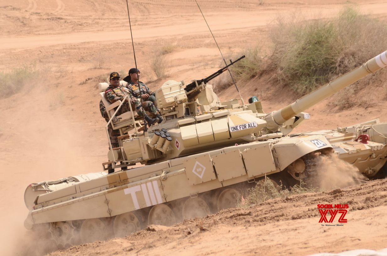 Army Southern Command conducts exercises in Rajasthan desert