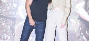 "Mumbai: Actress John Abraham and Diana Penty at the trailer launch of upcoming film ""Parmanu - The Story Of Pokhran"" in Mumbai, on May 11, 2018. (Photo: IANS)"