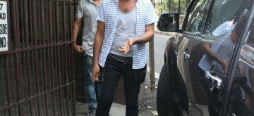 Actor Jackie Shroff seen at a Mumbai studio, on June 13, 2018. (Photo: IANS)