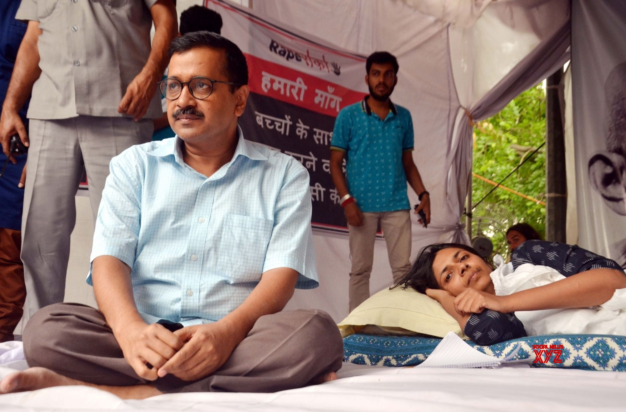 After 3 years, Kejriwal back to 'dharna' politics
