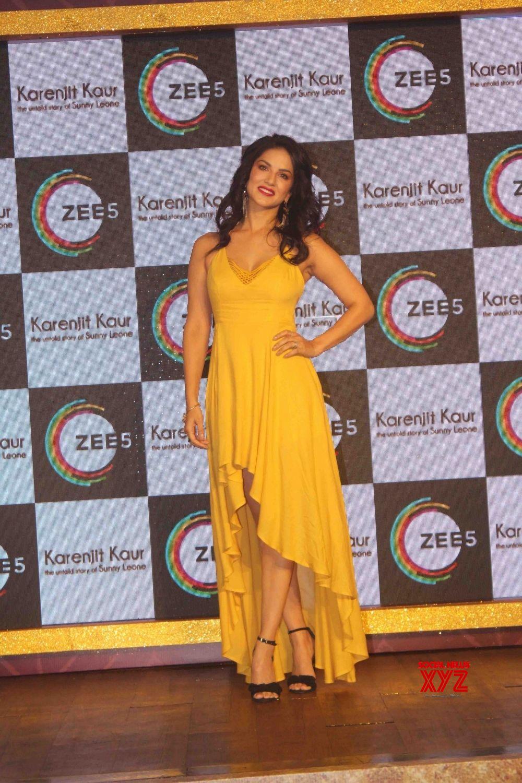 "Mumbai: Web series ""Karenjit Kaur: The Untold Story Of Sunny Leone"" #Gallery"