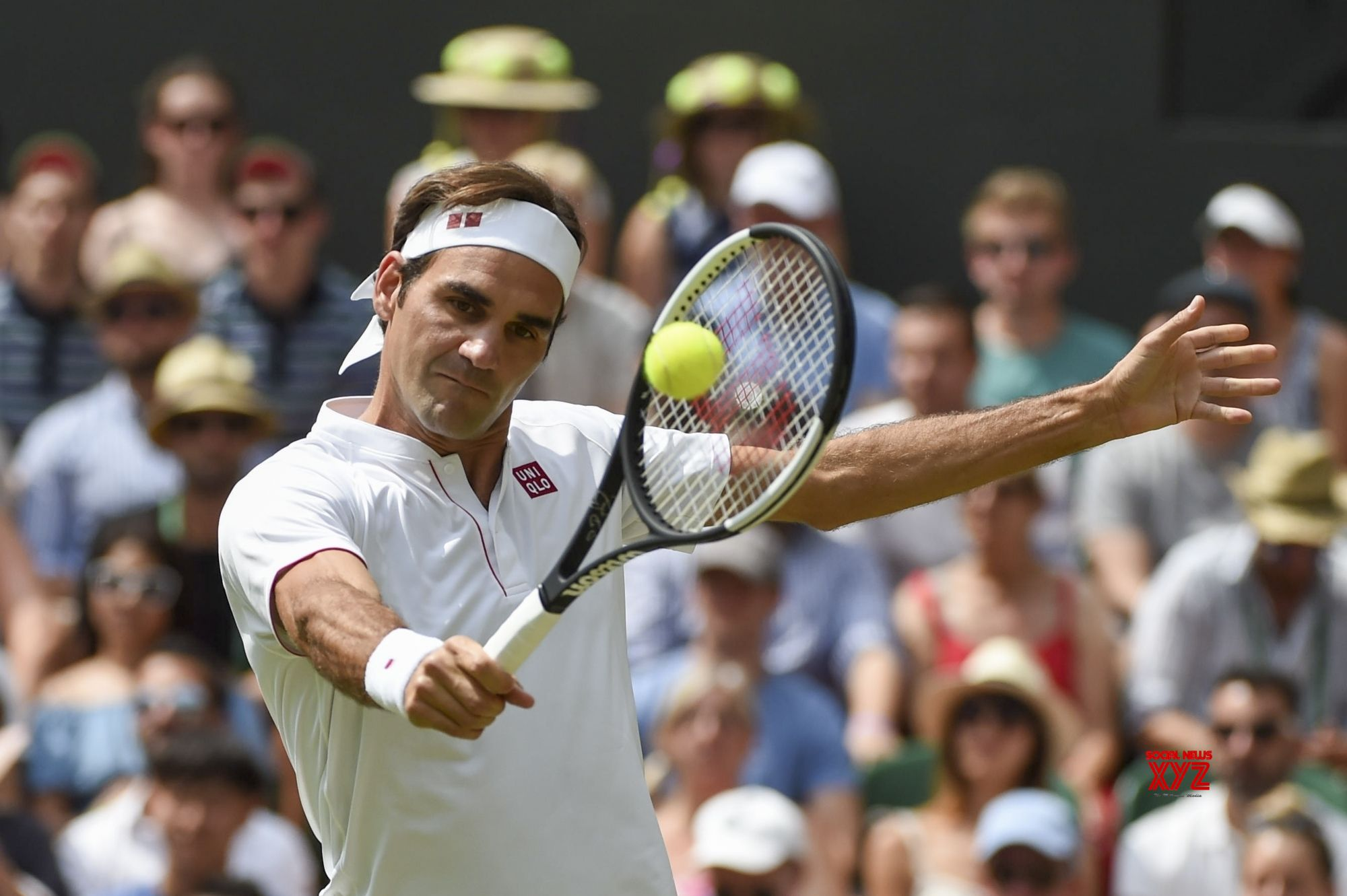 Anderson stuns defending champ Federer to enter Wimbledon semis