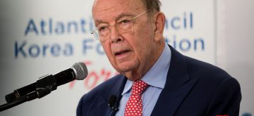 WASHINGTON, Dec. 13, 2017 (Xinhua) -- U.S. Secretary of Commerce Wilbur Ross speaks during the Atlantic Council-Korea Foundation Forum at Atlantic Council Headquarters in Washington D.C., the United States, on Dec. 12, 2017. (Xinhua/Ting Shen/IANS)