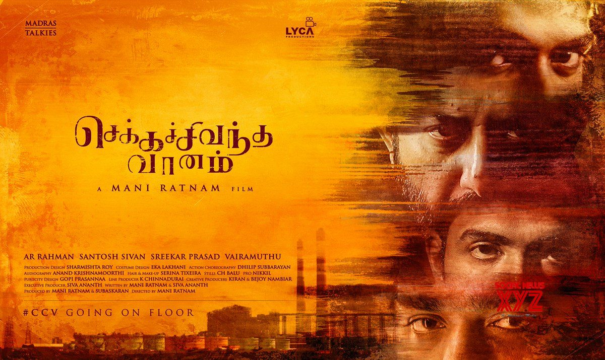 Maniratnam's Chekka Chivantha Vaanam Releasing Worldwide On September 28th