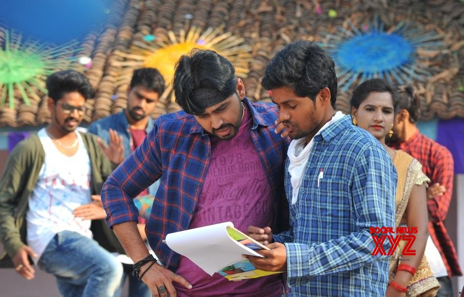 Tanishq Reddy's Sakala Kala Vallabhudu Working Stills