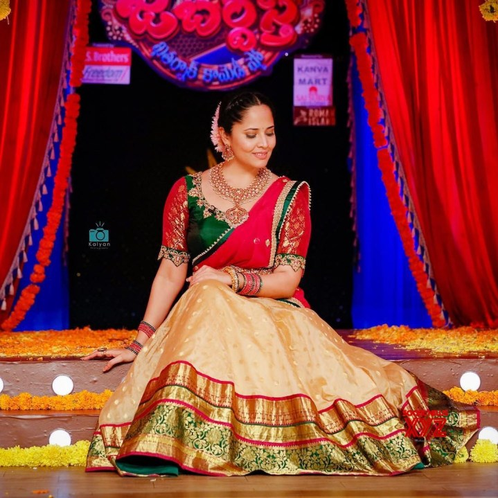 Anasuya Bharadwaj will be see in a village belle role again