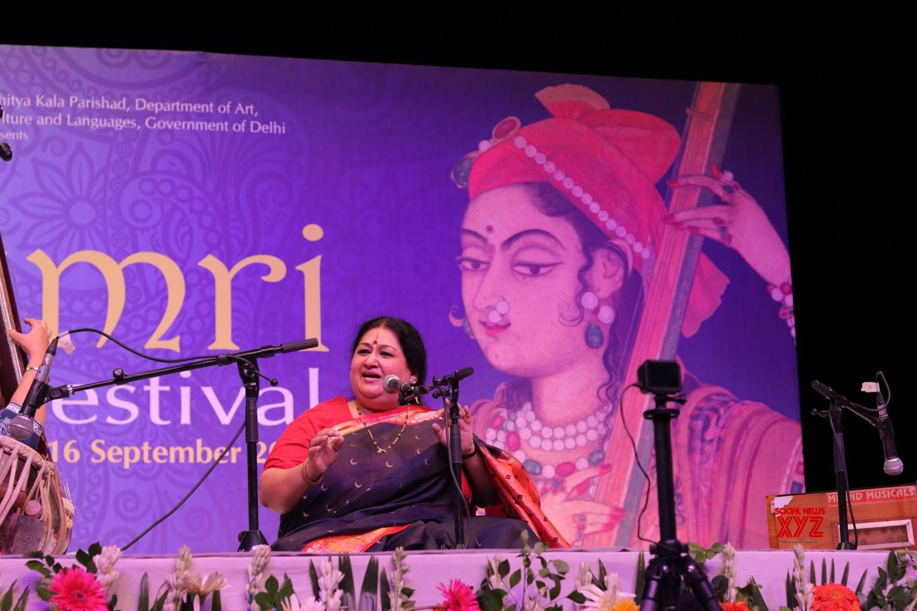 New Delhi: Thumri Festival   Shubha Mudgal #Gallery