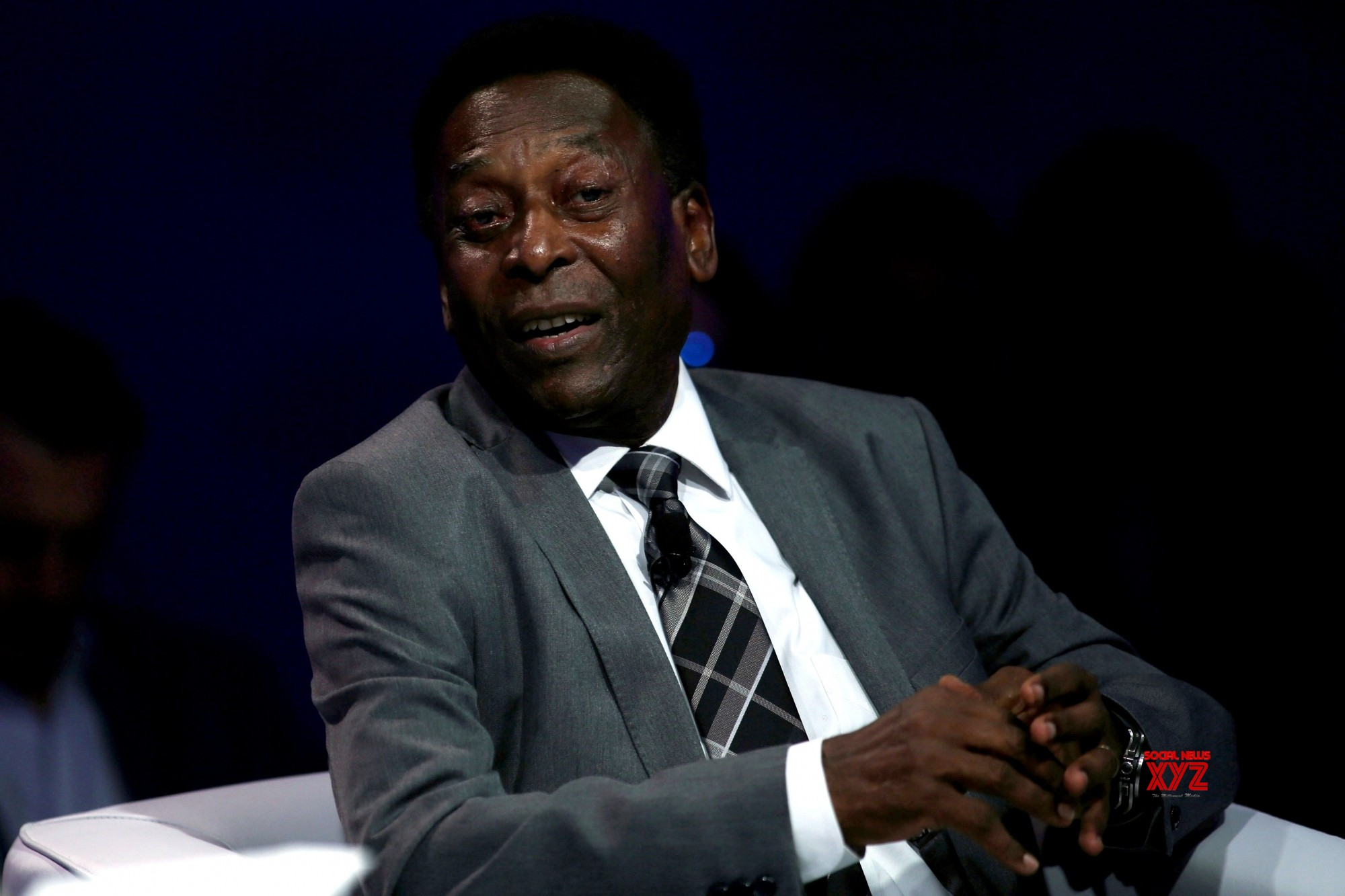 Pele 'thirsty' for life after hospital release